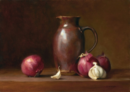 Onions and Pitcher