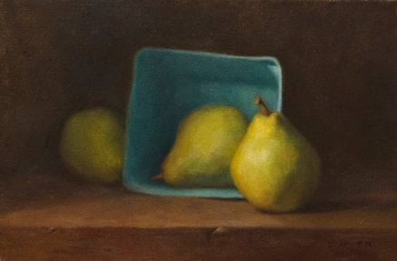 Pears and Carton