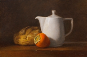 Persimmon and Bread